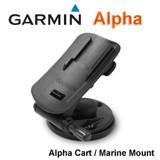 Garmin Alpha Dog GPS Tracking Handheld Cart/Marine Mount