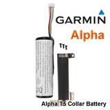 Garmin Lithium Battery Pack for T5 GPS Dog Tracking Collar