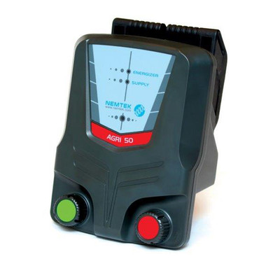 Nemtek Agri 50 Electric Fence Solar Energizer powers up to 50km electric fence wire