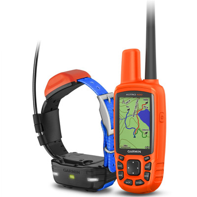 Garmin Astro 430 GPS Dog Tracking System with t5 mini collar