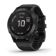 Garmin Fenix 6 Pro GPS watch - Black with Black Band