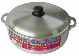 #3 Aluminum Caldero w/ Lid (1.7 Qt/ 1.6 L)