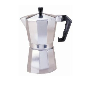 6 cup Espresso Coffee Maker, Aluminum