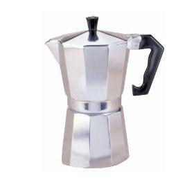 6 cup Espresso Coffee Maker, Aluminum