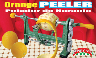 Heavy Duty Orange and Fruit Peeler