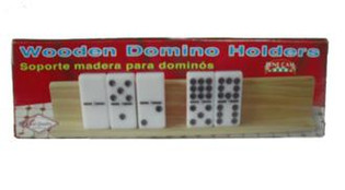 Bene Casa Wooden Domino Holders