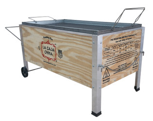 La Caja China Model #2 100 lb Pig Cooker Barbecue