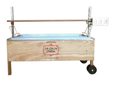 La Caja China Whole Pig, Lamb Spit Rotisserie