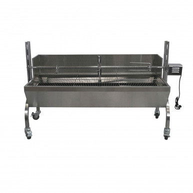 13-Watt Stainless Steel Rotisserie Grill - Latin Touch