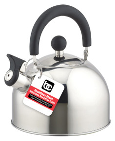 Tea Kettle 2.5Qt S/S Whistling w/ Removable Lid
