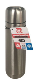 S/S Espresso Coffee Thermo w/ 2 Cups, 0.5L
