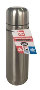 S/S Espresso Coffee Thermo w/ 2 Cups, 0.5L