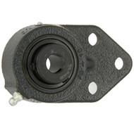 "FB14 Standard Duty Three Bolt Flange 7/8"" Bore"