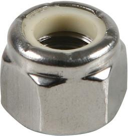 1/4-20 Stainless Nylon Lock Nut (100 Count) | Jamieson Machine Industrial Supply Company