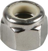 5/16-18 Stainless Nylon Lock Nut (100 Count) | Jamieson Machine Industrial Supply Company