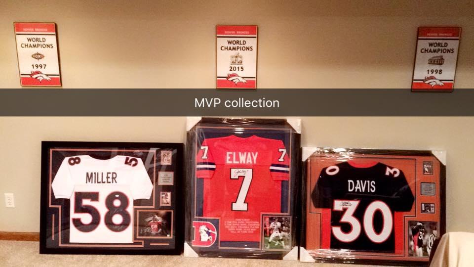Denver Broncos Von Miller John Elway Terrell Davis