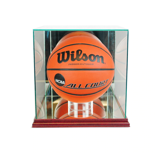 This basketball display case is the best way to display your prized basketball collection!