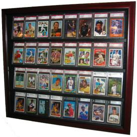 Executive Baseball Card Display Cases