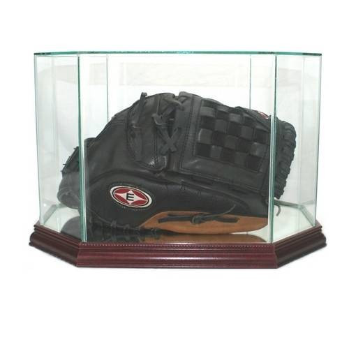 This baseball glove/mitt display case is the best way to hold your prized glove