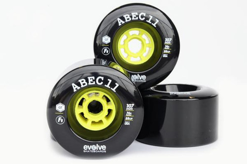 Evolve F1 Street Wheels Black