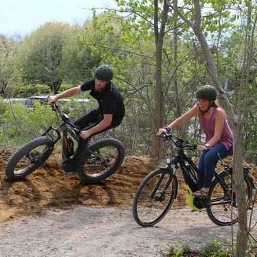 Electric Bike MACkite Test Track