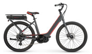 2018 iZip E3 Vibe Plus Step Thru Electric Bike - Grey