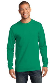 TR Long Sleeve T-Shirt w/TR Full front basketball logo