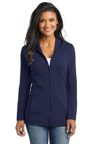 Port Authority Ladies Modern Stretch Cotton Full Zip Jacket