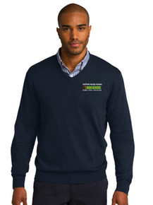 Port Authority V Neck  Pullover Sweater -BB