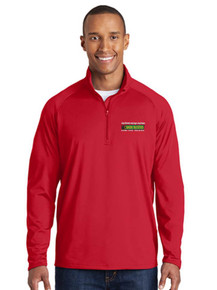 1/4 Zip Pullover Sport-Wick Smooth  - BB