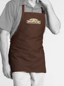 Adjustable Bib Three- Pocket Short Apron