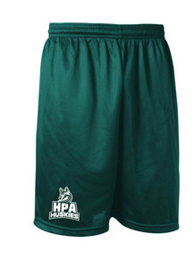 MIni Mesh Performance Short for HPA w/screen print logo