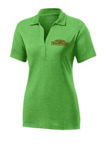 Ladies Polo Sport-Tek Heather Contender  w/RMCF Logo