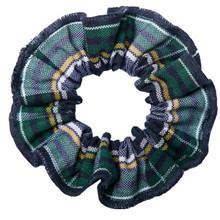 Hair Scrunchie Plaid 1B