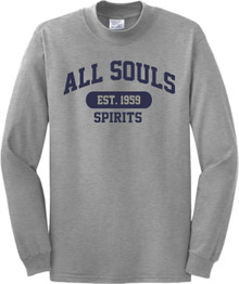 All Souls Gray PE Shirt Long Sleeves
