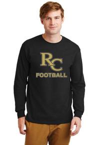 Men's Long Sleeve Cotton T-Shirt - RC Football