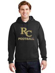 Men's Hooded Pullover Sweatshirt Jerzees Super Sweats -RC Football