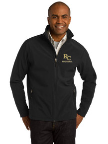 Port Authority Men's Soft Shell Jacket -RC Football