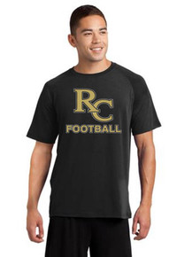 Men's Short Sleeve Dri-Fit Cotton T-Shirt -RC Football