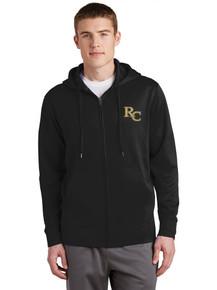 Men's Performance Full Zip Hooded Sweatshirt- RC Football