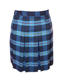 9A Plaid Girls Skirt - 10 Pleat Stitched Down