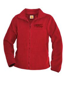 Zip Front Fleece Jacket w/CSCC Embroidered Logo