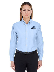 Ultra Club Ladies Long Sleeve Wrinkle Resistant Oxford for Legacy Staff