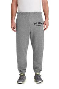 RC Lacrosse Gray Sweatpants w/Screen Print on Leg