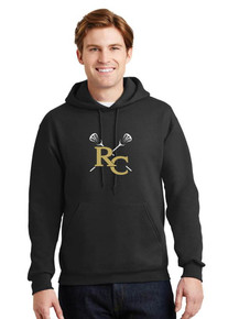 Jerzees Pullover Hoodie with RC Girls Lacrosse Logo