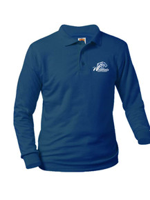 Jersey Knit Long Sleeve Polo Shirt - Legacy