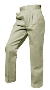 Boys Pants - Pleated Front - Khaki, Black or Navy