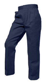 Boys Pants - Pleated Front - Navy