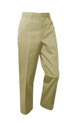 Boys Pants - Flat Front - Khaki