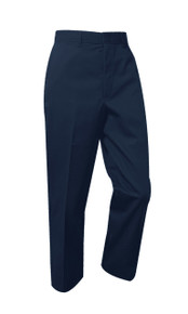 Boys Pants - Flat Front - Navy